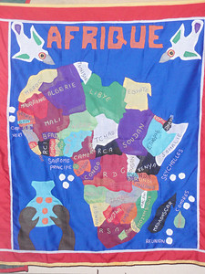 003_African Continent  Benin Population 7 Million