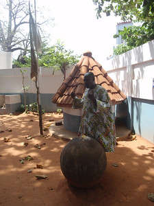 037_Ouidah  The Python Temple  An Important Voodoo Shrines