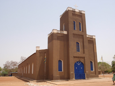 014_Navrongo Church  Sudanese Banco Architecture