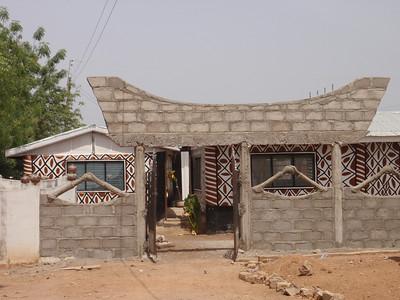 009_Paga  Home of Kassena People  One of Various Gurunsi Tribes