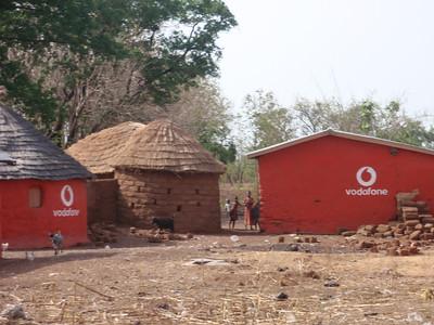021_Between Tamale and Kumasi  Village Life  Traditional Buildings
