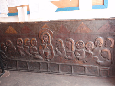 015_Navrongo  Church  Naive Style Bas-Reliefs of Biblical Scenes