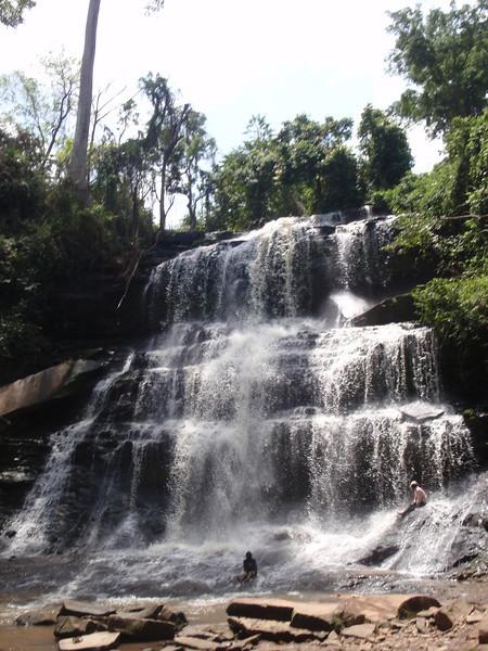 044_Kintampo Waterfalls  Set in a Deep Canyon