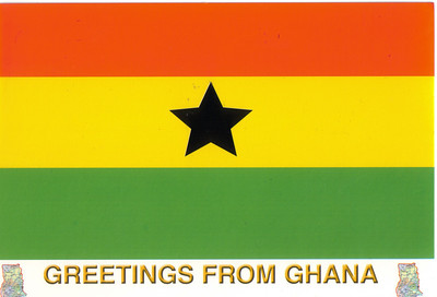 005_Ghana Flag  Hailed as West Africa's Golden Child