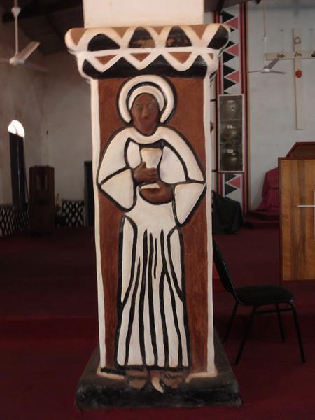 018_Navrongo  Church  Kassena Style  Country is 70% Christian
