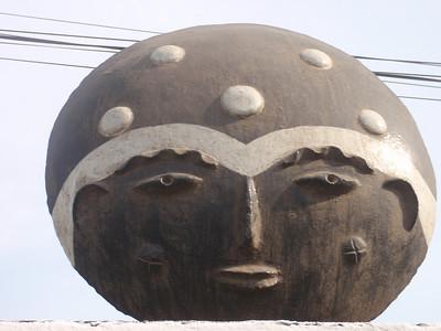 029_Memorials Heads  Ashanti Tribe  Ghana  18th  C