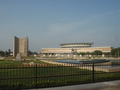 022_Lome  Place de l'Independance and Palais des Congres