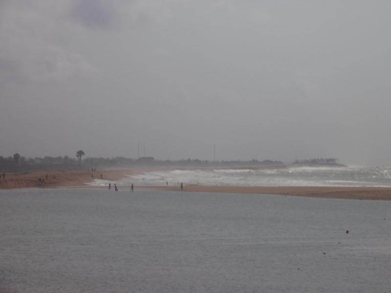 010_Aneho  The Togo Lagoon Meets the Atlantic Ocean