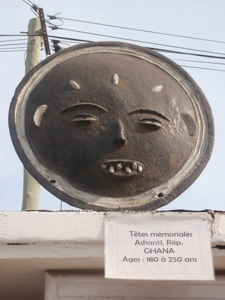 028_Memorials Heads  Ashanti Tribe  Ghana  18th  C