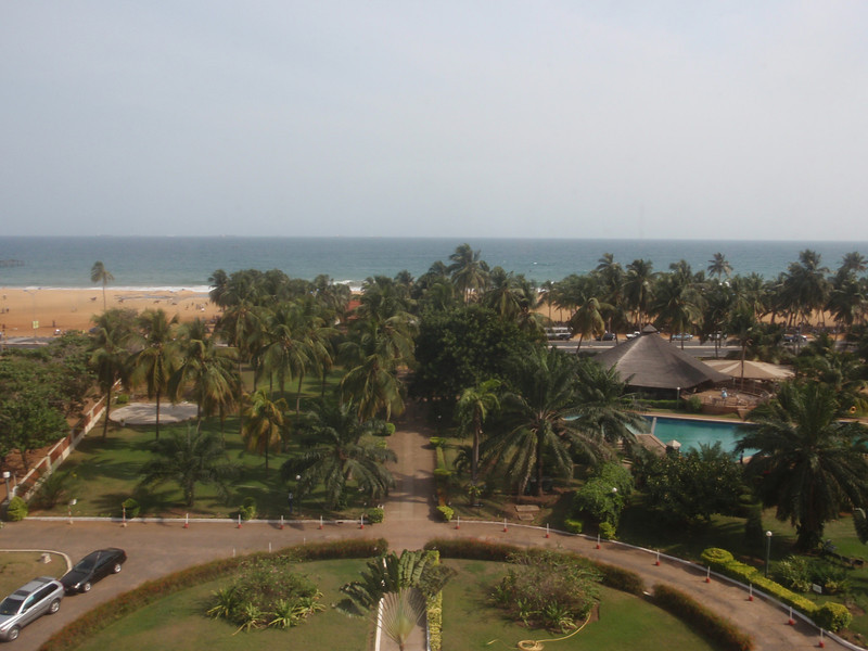 021_Lome  The Novotel Hotel Garden and Swimming Pool