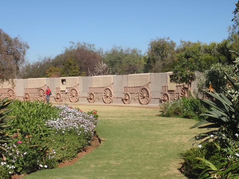 012_Pretoria  The Voortrekker Monument  Commemorating the Great Trek  15,000 Pioneers  1835-1854