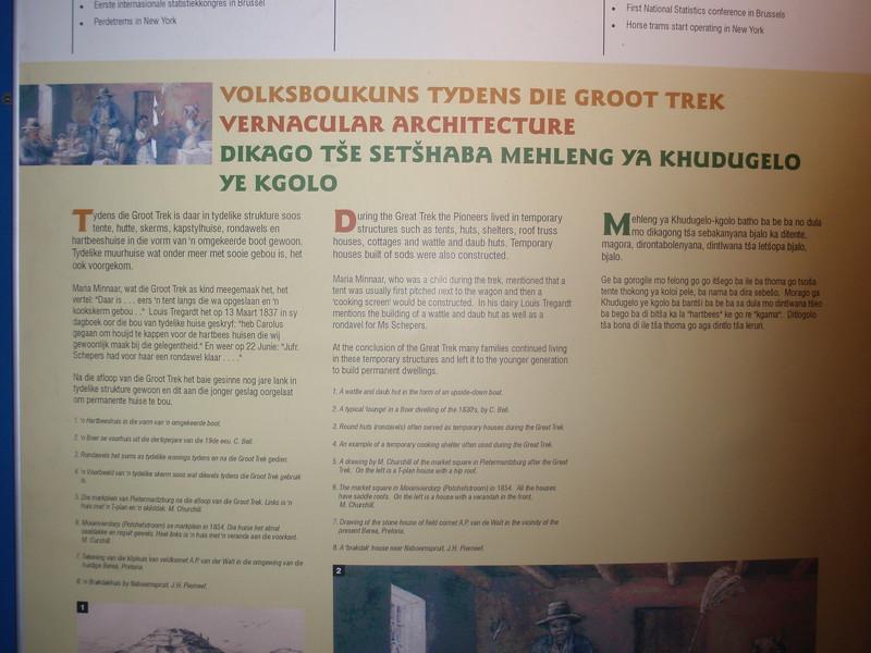 036_Pretoria  The Voortrekker Monument  Vernicular Architecture