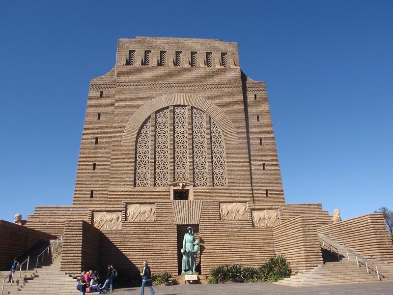 008_Pretoria  The Voortrekker Monument  Commemorating the Great Trek  15,000 Pioneers  1835-1854