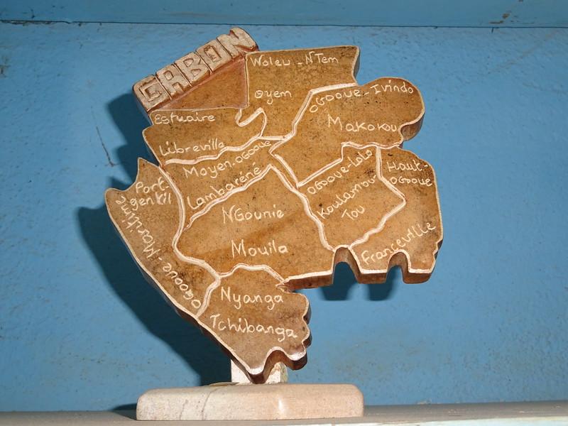004_Gabon Map