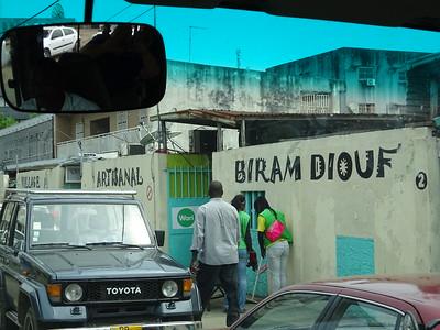 020_Libreville  Village Artisanal Biran Diouf