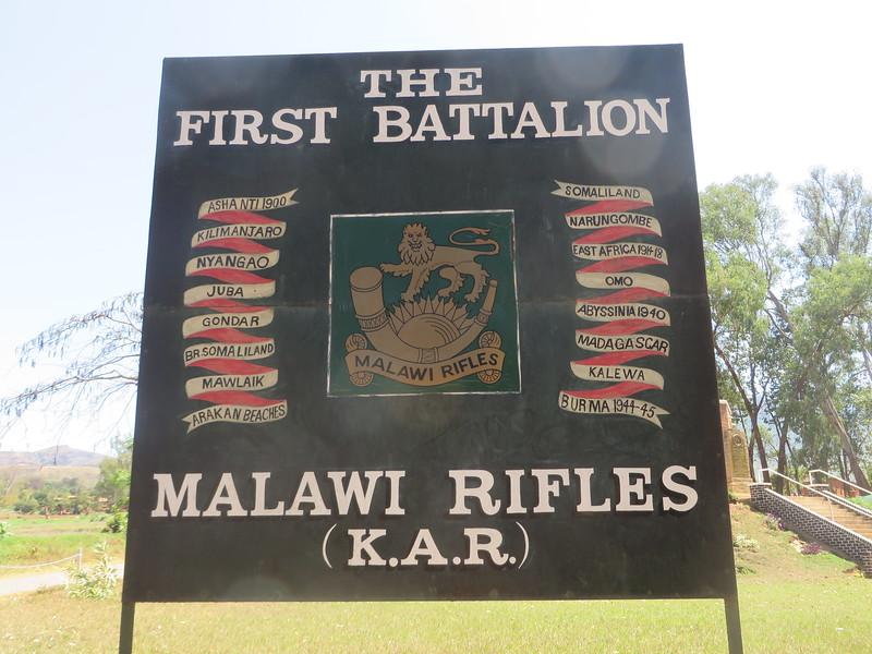 009_Zomba  World War 1 Memorial  Malawi Rifles