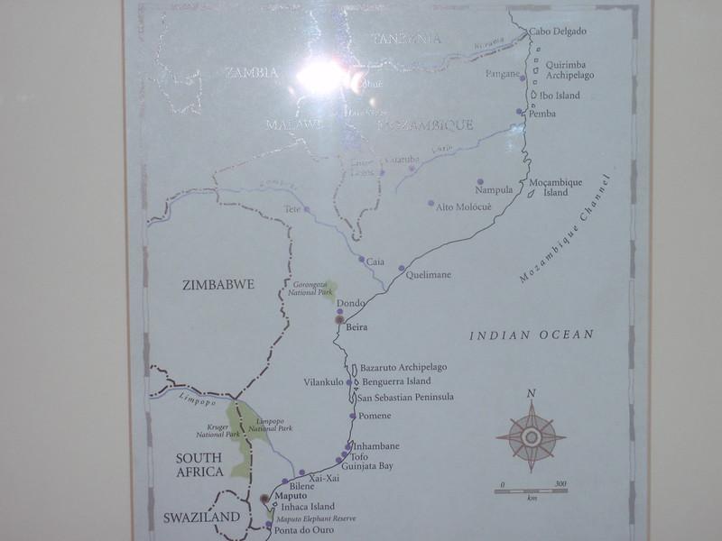 005_Mozambique  Map