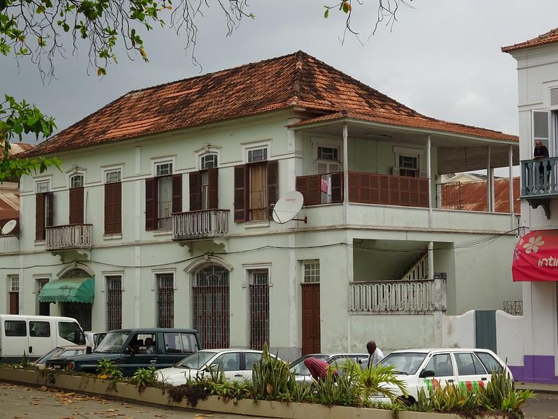 011_Sao Tome Island  Colonial Building