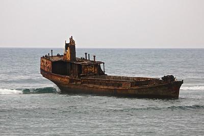 025_Sao Tome Island  Sunken Ship
