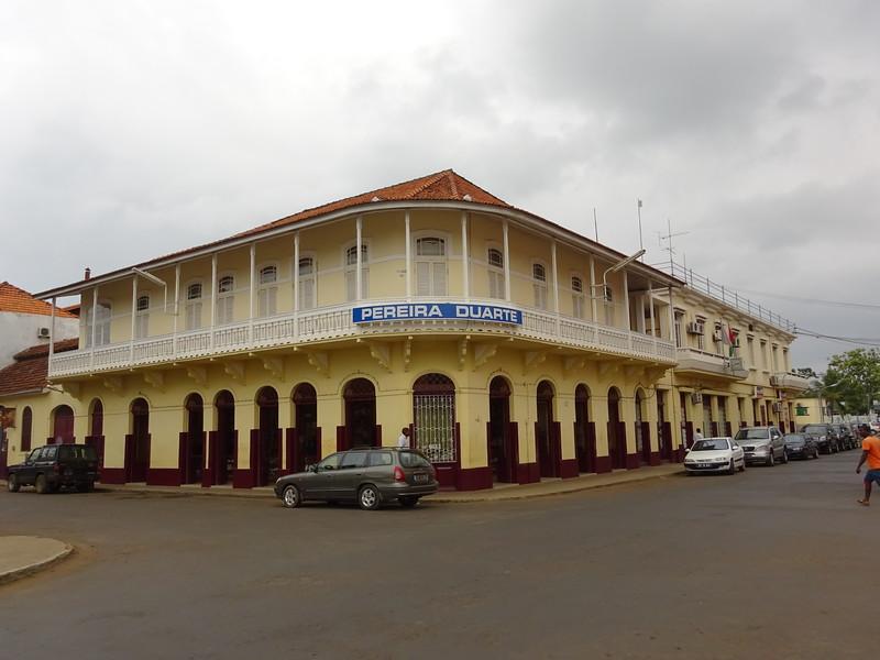 017_Sao Tome Island  Colonial Building