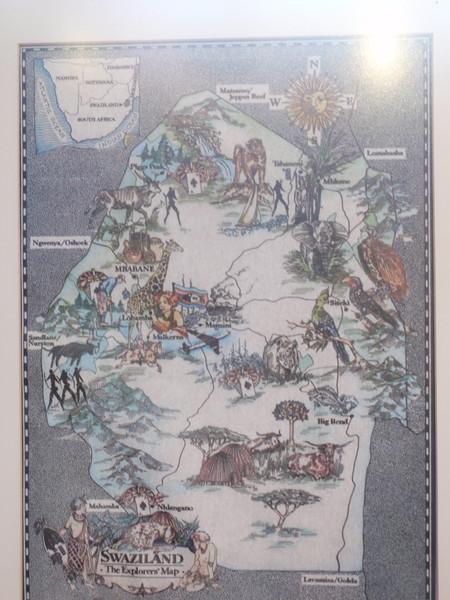 005_Swaziland Map