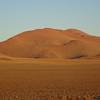 164_Namib Naukluft Park  Dunes at Sunrise  The Park protects vast dune fields, desert plains, wild mountains and unique flora