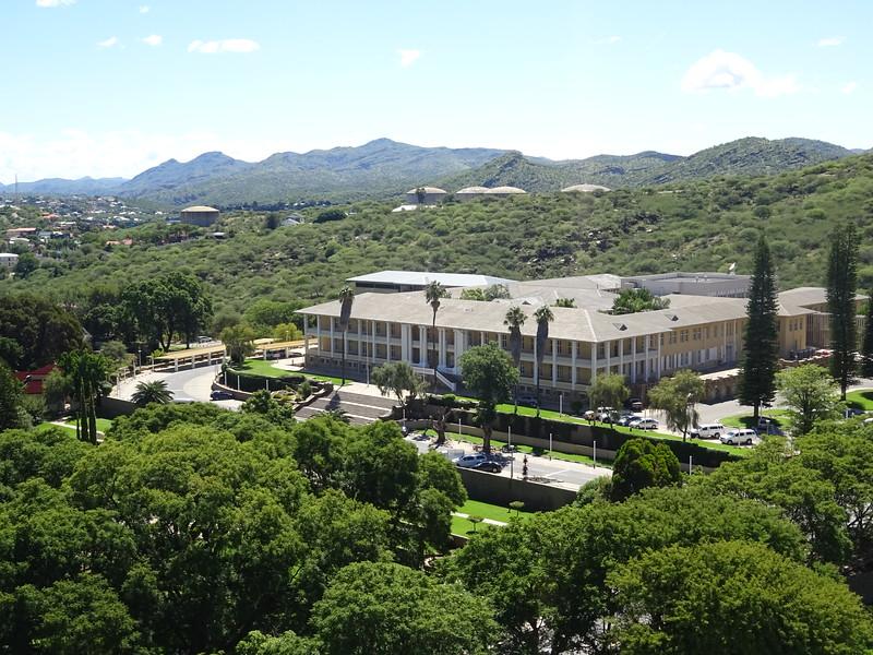 022_Windhoek  Tintenpalast  Ink Palace  The Namibian Parlement