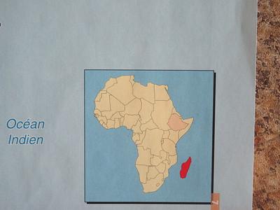 001_Madagascar  Ile continent de l'Océan Indien  4ième plus grande île du monde