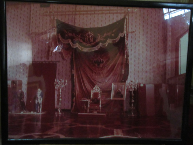 019_Antananarivo  The Rova  Le Salon Rouge