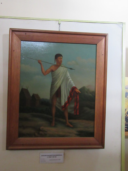 026_Antananarivo  The Rova  King  Andrianampoinimerina  1787-1810