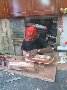 054_Curepipe  L'importance des traditions  Maquettes de voiliers anciens
