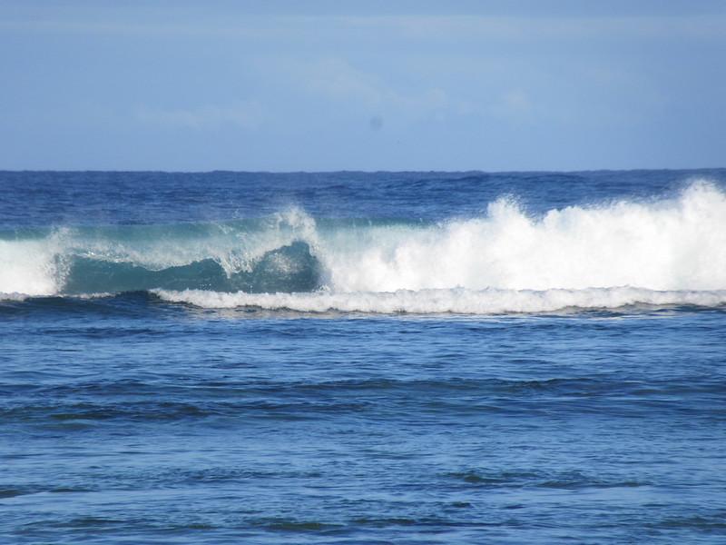 022_Côte Ouest, sous le vent  Baignade autorisé sur seulement 20km de plage (par bout cumulé)