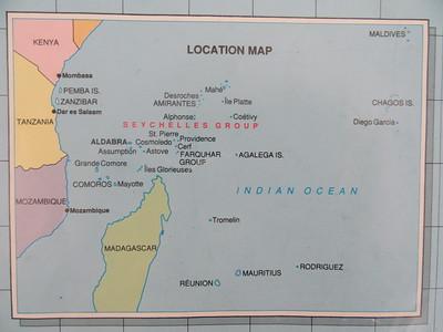 005_Seychelles Archipelago  40,000 sq km of the Indian Ocean, northeast of Madagascar