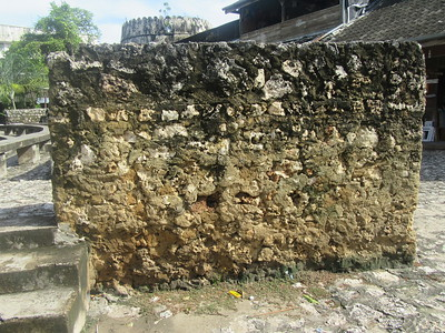 040_The coraline rock of Zanzibar was a good building material, but it is also easily eroded