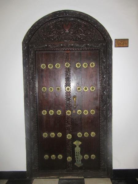 022_Zanzibar Stone Town  Tembo House Hotel  1834  The door of my room
