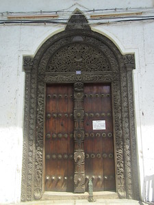 044_Zanzibar Stone Town  Carved wooden doors