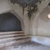 307_Mahurubi Palace  Bath Complex  Toward the Hot and Cool dips  Holes in the walls, for ventilation
