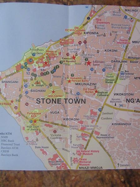 009_Zanzibar Stone Town  3km diameter, 3000 buildings  UNESCO