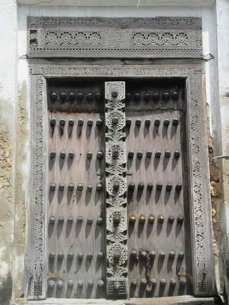 045_Zanzibar Stone Town  Carved wooden doors