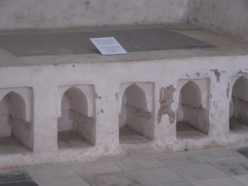 182_Hamamni Persian Baths  The semi-circular niches under this baraka, for storage of footwear