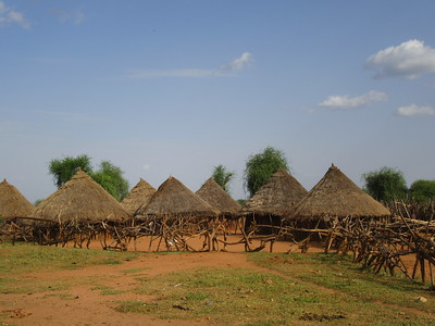 772_Omo Valley  Turmi  Hammer Village  The biggest village (this one)  2,000 people