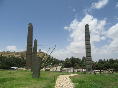 054_The Standing Obelisk  20,6 metres  The Oldest  3 Faces engraving  No Engraving on the Back Side
