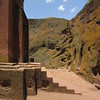 281_Lalibela Rock-Hewn church  Beta Ghioghis  7 steps, 6 days of Creation and Rest on the 7th day