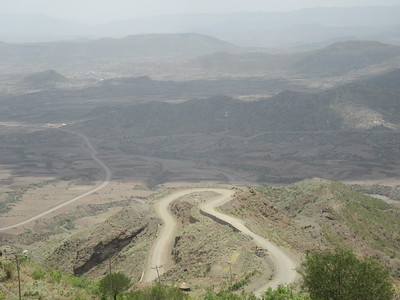 287_Lalibela  Vast arid mountain ranges of great beauty