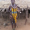 784_Omo Valley  Turmi  Hammer Village  3 to 4 wives on the same compound