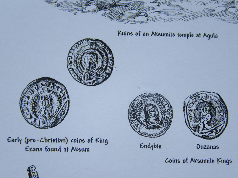 021_Axum  Coins, 4th C AD  Exotic imports returned from Egypt, Arabia and India