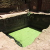 187_Bete Maryam  Baptismal Pool (and Cistern)  Never change water  People dip or take the Holy water home