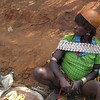 875_Key Afer  Tribal Market Day  Banna Tribe Women, with Calabash on her Head