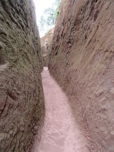 232_Lalibela Rock-Hewn churches  South-Eastern Group  Trenches