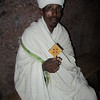 190_Bete Maryam  Ethiopian-Orthodox Priest and Hand Cross  800 Paid Priests & Deacons on site